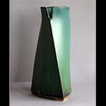 Triangular Spiral Vase